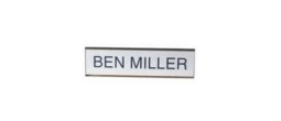 Wall Holder & Name Plate