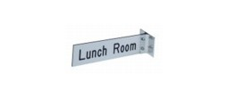 Projecting Wall Holder & Name Plate