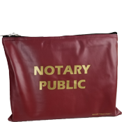 BAG-NP-LG-BRG - Large Notary Supplies Bag