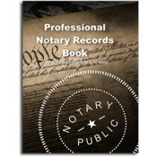 Notary Records Book / Journal